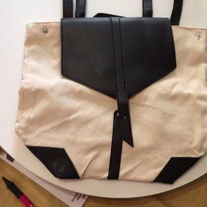 Deux Lux backpack purse canvas